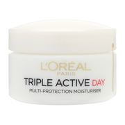 L'Oréal Paris Dermo-Expertise Triple Active Day Multi-Protection Moisturiser - Dry/Sensitive 50ml