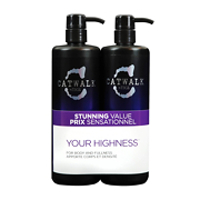 TIGI Catwalk Your Highness Volume Collection Tween Shampoo and Conditioner Duo 2x750ml
