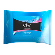 Olay Essentials Wet Cleansing Wipes - Sensitive x20