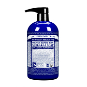 Dr Bronner's Organic Shikakai Spearmint Peppermint Hand & Body Soap 710ml