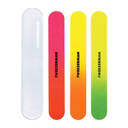 Tweezerman Neon Filemates (3 Nail Files and Case)