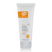 Green People Sun Lotion SPF15 with Tan Accelerator 100ml - Travel Size