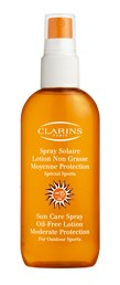Clarins Sun Care Spray Oil-Free Lotion Moderate Protection SPF15 150ml